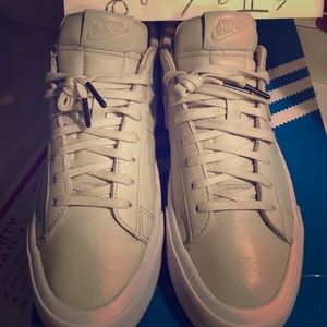 Premium Nike butter leather sneakers